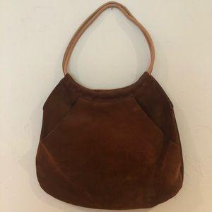 Vintage gap 100% cow suede boho purse